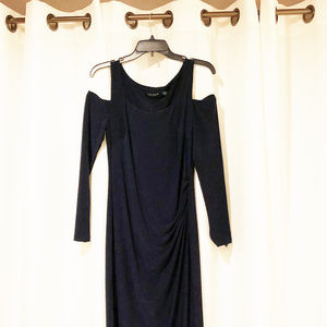 Lauren Ralph Lauren womens new size 10 navy dress
